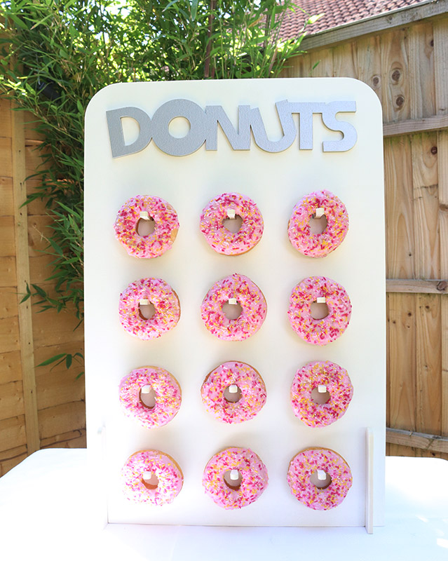 Donut stand for hire